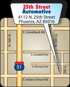 Auto Repair Phoenix 25th Street Automotive Autos Post