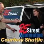 Auto Repair & Service Courtesy Shuttle