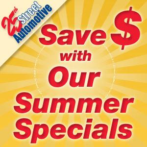 Auto Service Summer Specials