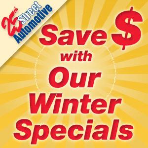Auto Service Winter Specials