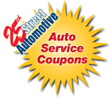 Auto Service Coupons