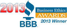 BBB Ethics Award Winner