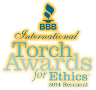 BBB International Torch Awards for Ethics 2014 Recipient